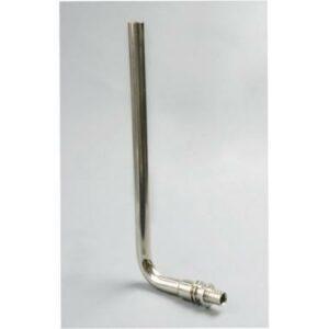 Трубка подключения радиатора L-образная из латуни