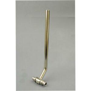 Трубка подключения радиатора Т-образная из латуни